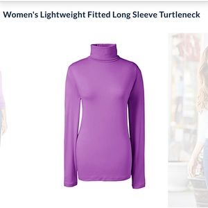 Long sleeve turtleneck